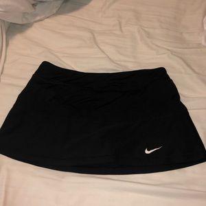 Black Nike Tennis Skirt Large